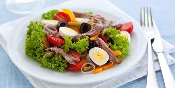 Pesto mal anders Salat Nicoise