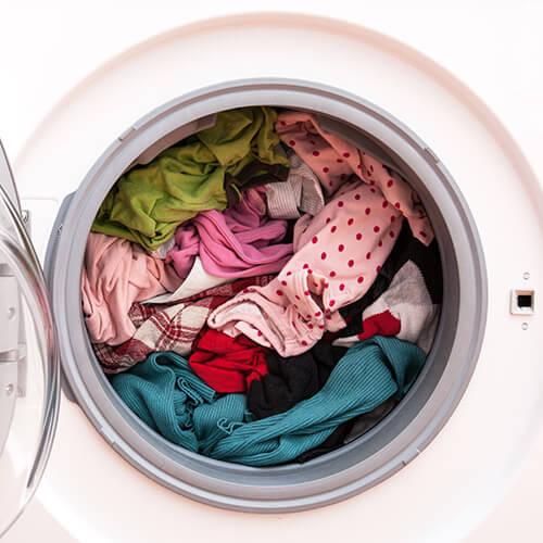 10 Waschmaschinen Tipps: die passende Ladung
