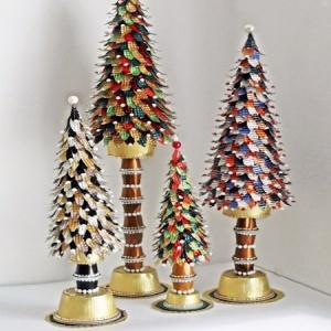 Kaffeekapseln Weihnachtsdeko