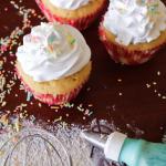 Einfache Cupcakes für daheim mit den Kindern