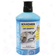 Das Kärcher-Auto-Shampoo ist ein leicht alkalisches Waschmittel