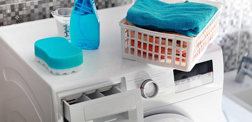 Die Waschmaschine nicht regelmäßig reinigen