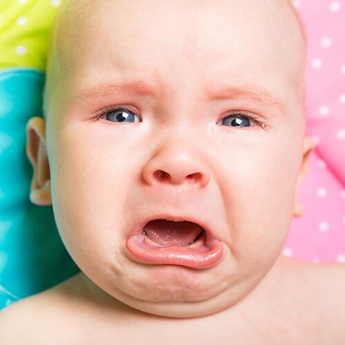 Das Weinen von Babys stoppen