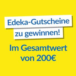 Gewinne einen 100 € Edeka Gutschein!