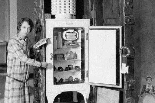 Der elektrische Kühlschrank