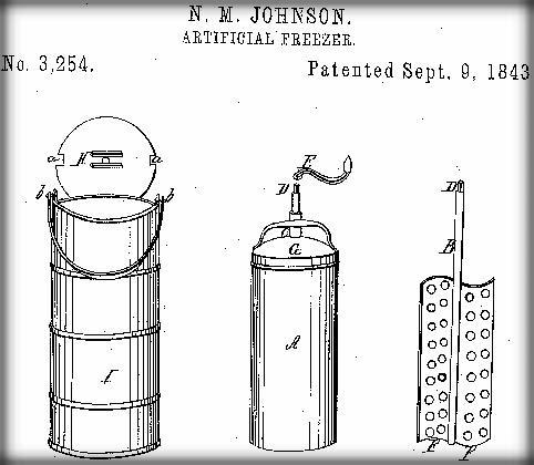 Die erste Eismaschine