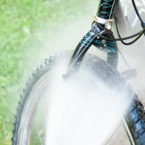 Fahrrad reinigen: Top Tipps mit einem Kärcher Hochdruckreiniger!