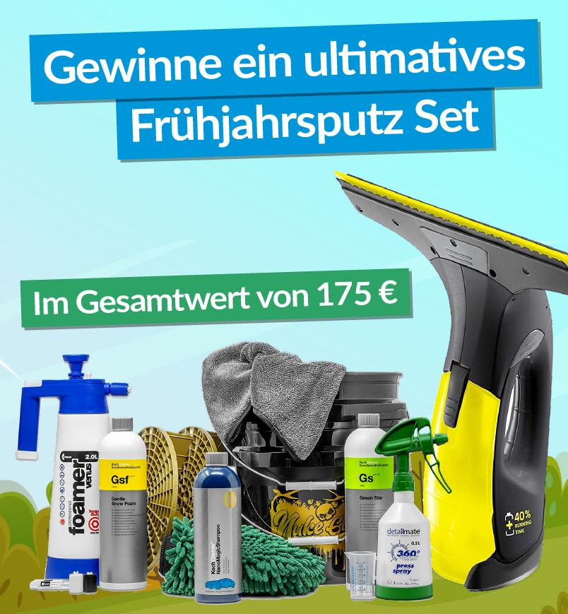Gewinne ein 175 € Profi Reinigungsset!