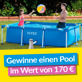 Gewinne einen 170 € Swimmingpool mit eSpares!