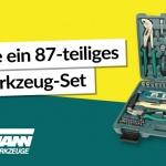 Gewinne einen Werkzeugkoffer von Brüder Mannesmann!
